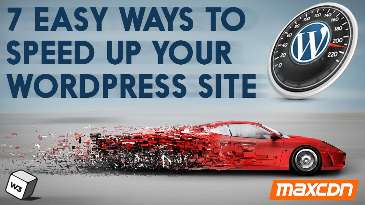 7 Easy Ways To Speed Up Your WordPress Site - YouTube