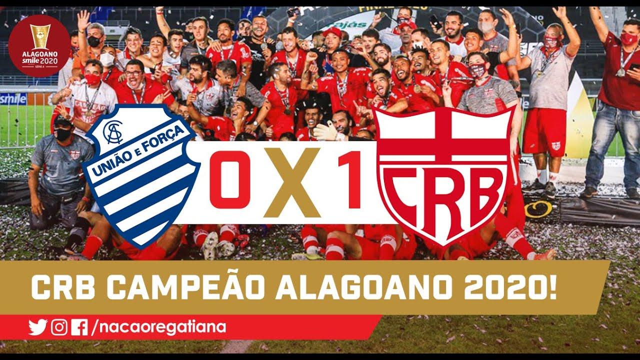 GOL E ENTREGA DO TROFÉU: CSA 0 x 1 CRB - Alagoano 2020 - final ...