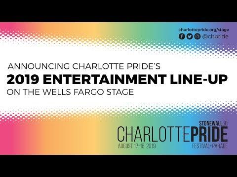 2019 Wells Fargo Stage - Charlotte Pride