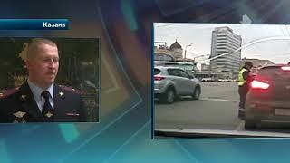 Автоинспектор, которого протащил военный следователь, рассказал подробности происшествия