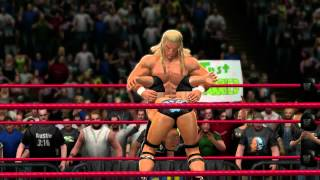 DX Triple H hits his finisher in WWE