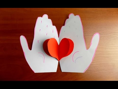 ВАЛЕНТИНКИ из Бумаги Своими Руками Valentines Day Crafts