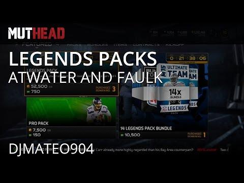 Madden Ultimate Team 15 - 97 OVR Marshall Faulk & Steve Atwater - w/ @djmateo904 & LEG Pack Pulls