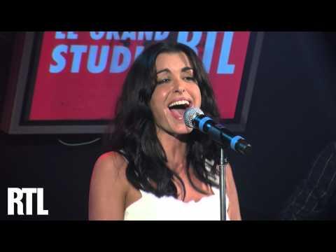 Jenifer - Sur le fil en Live dans le Grand Studio RTL présenté par Eric Jean-Jean - RTL - RTL