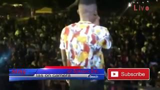 Aslay Perfoming Angekuona Live in Bujumbura Burundi
