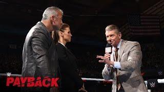 بالفيديو- نتائج Payback: فينس ماكمان يصدم أبنائه بشأن المدير الجديد لـ