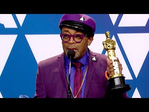 Oscars 2019: Spike Lee Wins For Best Adapted Screenplay (FULL INTERVIEW)