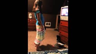 10 year old dancing to dirty dancing