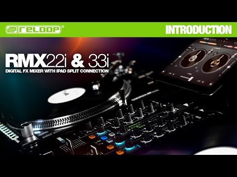 RMX-22i / RMX-33i: Digital FX Mixer with iPad Split Connection