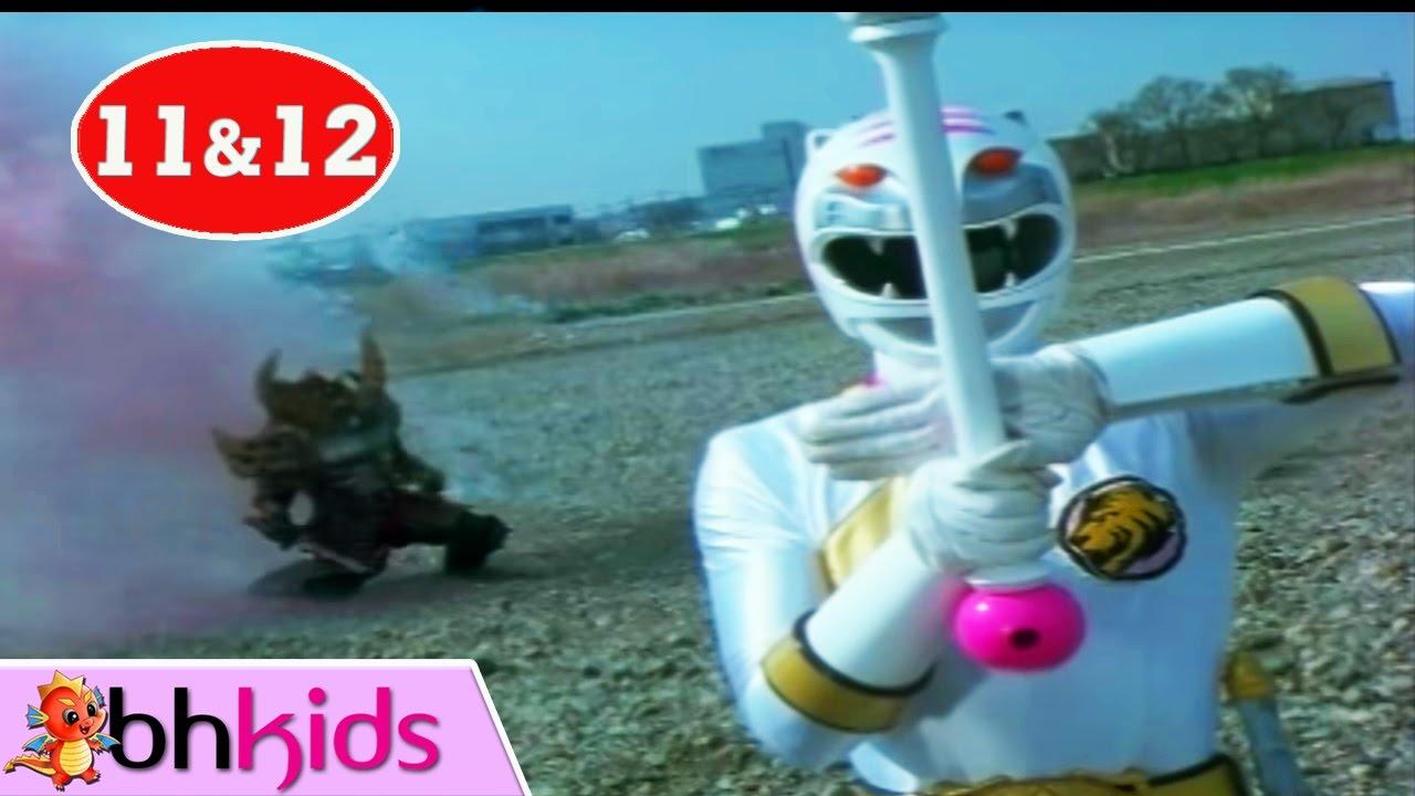 Siêu Nhân Gao Tập 11+12 | Phim Siêu Nhân Nhật Bản