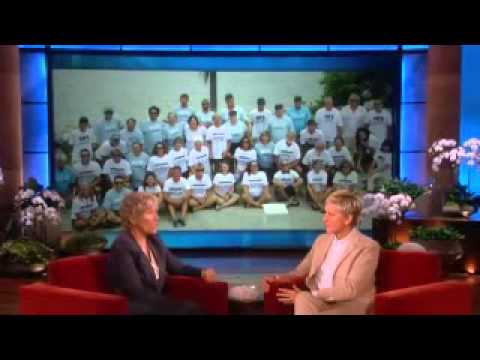 Dina reveals how does mask work during swimming on the ellen show