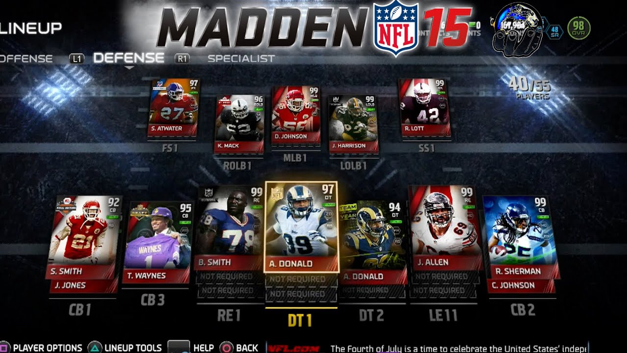 Madden 15 how to build your mut team free tips youtube
