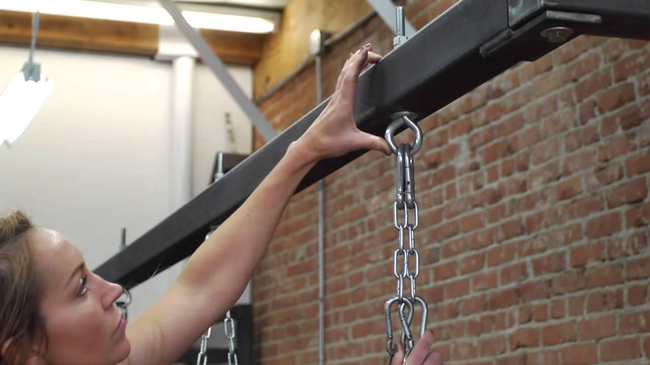 Proper Equipment To Hang A Heavy Punching Bag Youtube