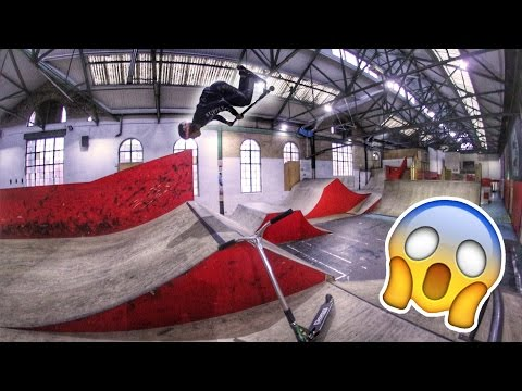 CRAZY STEP-UP SCOOTER SESSION!