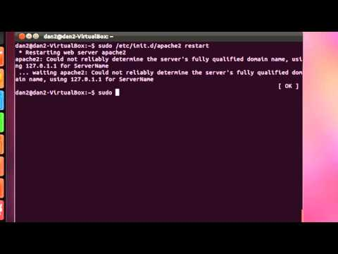Install PHP to an Apache web server in Ubuntu Linux