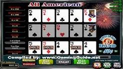 All American 3 Hand Video Poker