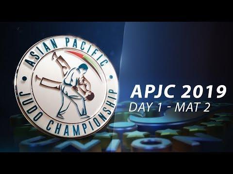 Asia-Pacific Judo Championships Seniors 2019 - Day1-Mat2