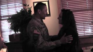 York soldier surprises girlfriend after returning from Afghanistan