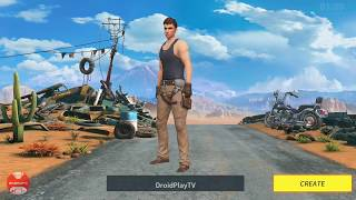 Android Games 2018 | RULES OF SURVIVAL - First time gameplay