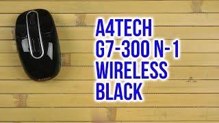 Розпакування A4Tech G7-300 N-1 Wireless Black