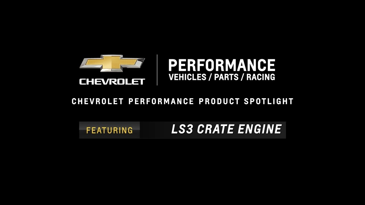Free Shipping on LS3 Crate Engine with 430HP & 425FT-LBS of