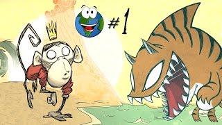 Прохождение Don't Starve: Shipwrecked за Вилбура #1 - Король обезьян жжёт