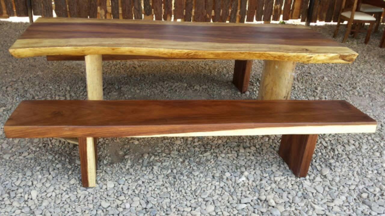 Sillas y mesas rusticas talpa molto bella youtube for Mesas y sillas rusticas