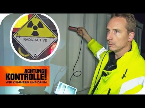 Radioaktiver Gefahrguttransport: Wie stark ist die Strahlung? | Achtung Kontrolle | kabel eins