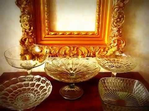 Чешская посуда и Чешское стекло, Богемское стекло оптом