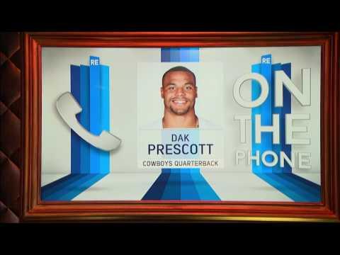 Cowboys QB Dak Prescott Talks Tony Romo, His Late Mom's Influence & More | Full Interview | 6/28/17