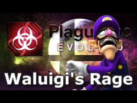 Plague Inc: Custom Scenarios - Waluigis Rage