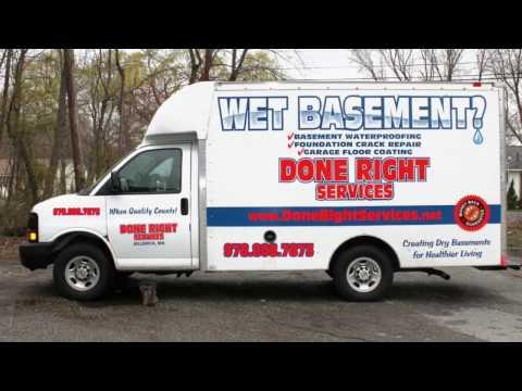 Done Right Services,Fieldstone Foundation Masonry Repair, Waterproofing, MA, NH, RI