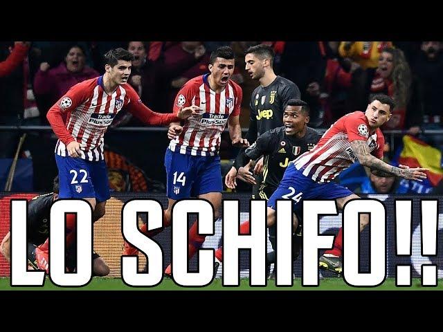 Atletico Madrid - JUVENTUS 2-0 | LO SCHIFO!!