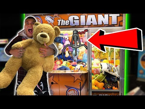 Thumbnail: WON THE MEGA JACKPOT!! 99% WIN RATE HACK ANY ARCADE CLAW GAME