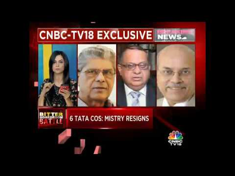CNBC-TV18 EXCLUSIVE: SHIFT OF PLANS. Cyrus Mistry Resigns From 6 Listed Group Cos