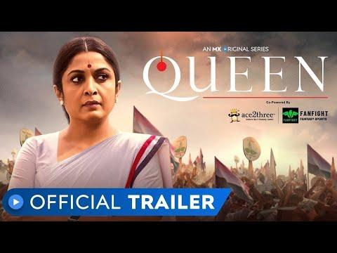 QUEEN   Official Trailer   MX Original Series   Ramya Krishnan   Gautham Vasudev Menon