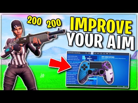 These Controller Settings Will Fix Your Aim.. (Look + Building & Editing)