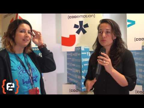 Interview to Alaina Percival - Codemotion Milan 2016