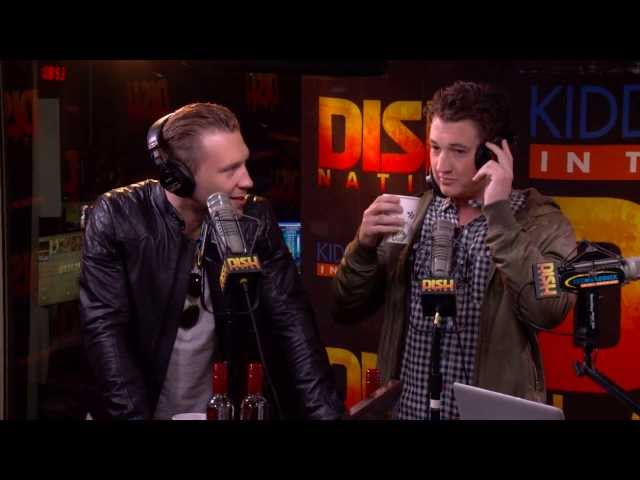 Miles Teller and Jai Courtney DIVERGENT Interview Part 3/3 - The Kidd Kraddick Show