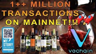 VeChain 1 Million Transactions Mainnet!! DNVGL MyStory