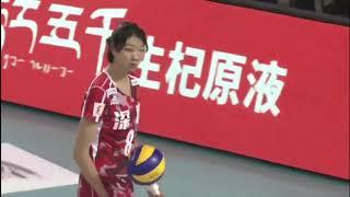 2017-2018 China Volleyball League 12th Round YUAN Xinyue Highlights
