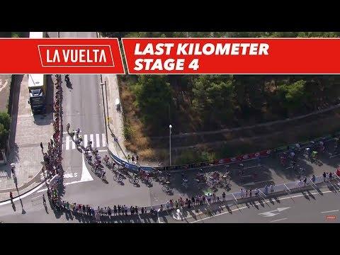 Last kilometer - Stage 4 - La Vuelta 2017