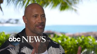 Dwayne 'The Rock' Johnson opens up about new 'Jumanji,' raising his daughter in Hollywood