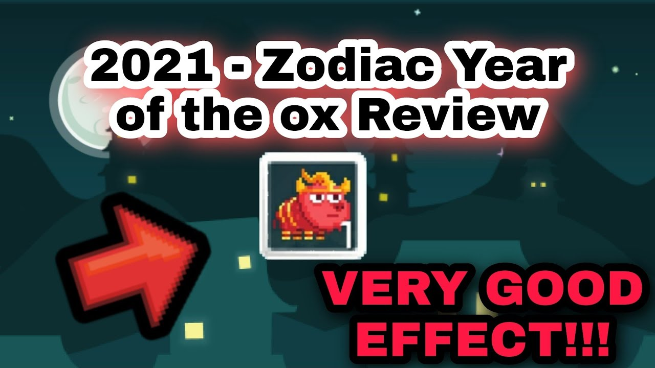 Our editors independently research, test, and recommend the best products; Growtopia 2021 - Zodiac Year of the ox Review - YouTube