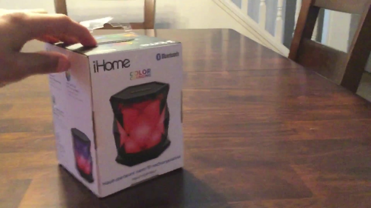 Opening a iHome speaker!!! by TheRedstoneSpecialist