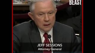 """There seems to be an awful lot Jeff Sessions doesn't """"recall"""""""