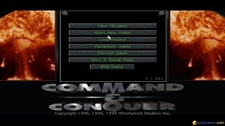 Command & Conquer Gold gameplay (PC Game, 1997)