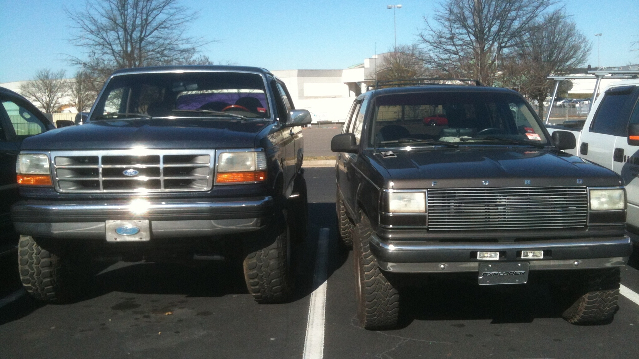 92 ford explorer lifted