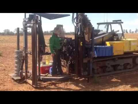 G Fence Pest Fencing Machine Youtube