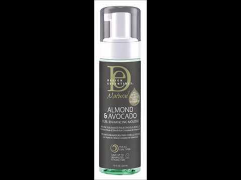 Design Essentials Natural Almond Avocado Curl Enhancing Mousse 7